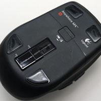 M905 のスライドスイッチ。大きく、操作しやすくなった。